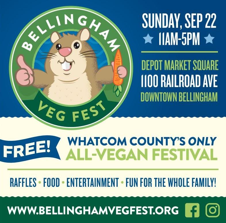 Bellingham Veg Fest – 1st Annual All-Vegan Festival in